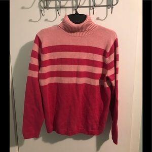 Women's Pink Sweater Size L